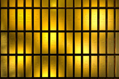 Gold bars block Three Dimension concept. Gold bars three dimension concept millionaire business Background stock photos