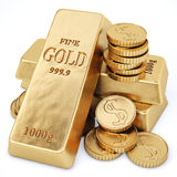 Bullion Royalty Free Stock Photo