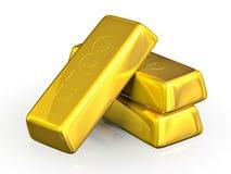 Gold bars Royalty Free Stock Photo