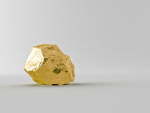 Gold bars. On a white background Royalty Free Stock Photo