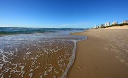 Gold beach Royalty Free Stock Photo