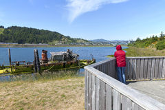 Gold Beach Oregon. Royalty Free Stock Photos