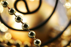 Free Gold Beads Royalty Free Stock Photography - 3717207