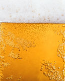 Gold beer as texture Stock Photo