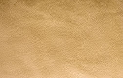 Gold-beige leather texture Royalty Free Stock Images