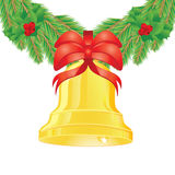 Gold bell Royalty Free Stock Images