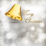 Gold Bell Stock Image