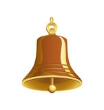 Gold bell Stock Images