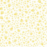Gold bell pattern-01 Royalty Free Stock Photography