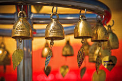 Gold Bells Stock Images