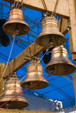 Gold bells Stock Photography