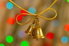 Golden bells Stock Photography