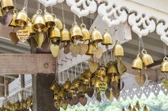 Gold bells Royalty Free Stock Photos
