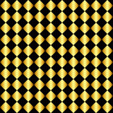 Gold and black background Stock Image