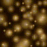 Gold on black dots background pattern Vector Illustration, Graphic Design Useful For Your Design. Bright Blue Abstract Royalty Free Stock Photo