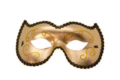 Gold and Black face mask Royalty Free Stock Photos