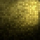 Gold and black mosaic Royalty Free Stock Image