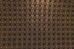 Gold and black pattern background oscuro stock images