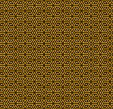Gold and black pattern royalty free stock image