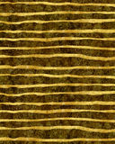 Gold Black Torn Stripes Faux Foil Metallic Background Stock Photography