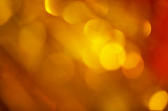 Gold blinking Royalty Free Stock Photography