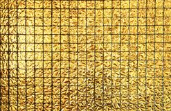 Gold block square seamless pattern Stock Images