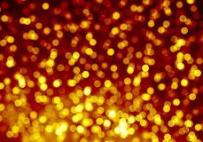 Gold blurred bokeh background, bright, light, glitter, night, yellow, orange, circles, spots, holiday. Abstract background spot blurred bokeh bright Christmas royalty free illustration