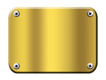 Gold board Royalty Free Stock Photography
