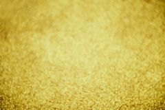 Gold bokeh abstract background stock photo