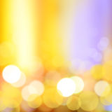 Gold bokeh abstract background Royalty Free Stock Photo