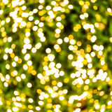 Gold bokeh Stock Photo