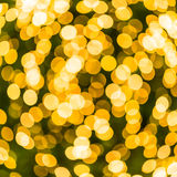 Gold bokeh Royalty Free Stock Photography