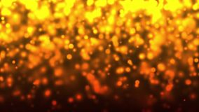 Gold bokeh animation