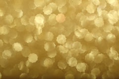 Gold bokeh background Royalty Free Stock Photo