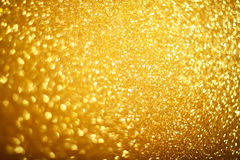 Gold bokeh background Royalty Free Stock Image