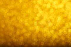 Gold bokeh background Royalty Free Stock Photos