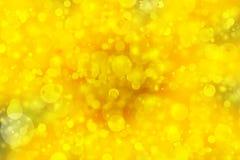 Gold bokeh background Stock Photo