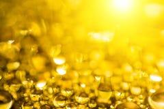 Gold bokeh background royalty free stock photo