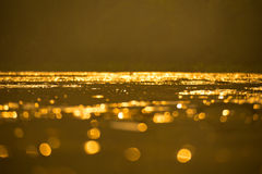 Gold Bokeh Stock Images