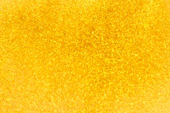 Gold bokhe blur background for christmas Royalty Free Stock Photos