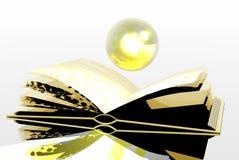 Gold book Royalty Free Stock Photos
