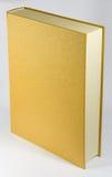 Gold book. Big gold book without a name Stock Photos