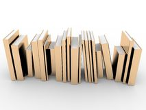 Gold books Stock Photography