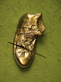 Gold boot Stock Images