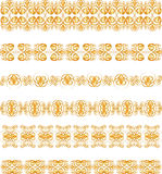 Gold border Royalty Free Stock Photo