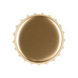 Gold Bottle Cap Royalty Free Stock Images