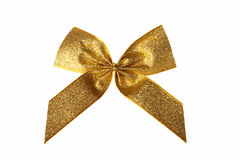 Gold bow Stock Photos