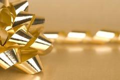 Gold Bow Stock Photos