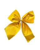 Gold bow Royalty Free Stock Image