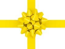 Gold bow more variants on my portfolio Stock Image